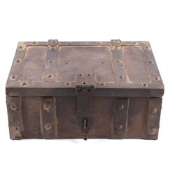 Wells Fargo Stagecoach Iron Lock Box