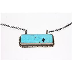 Navajo Tricia Smith Kingman Turquoise Necklace