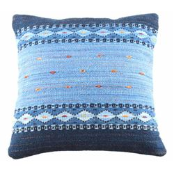 Night Stars Churro Wool Pillow by Alicia Gutierrez