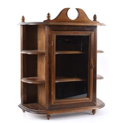 Mid 1900's Salesman Sample Curio Cabinet