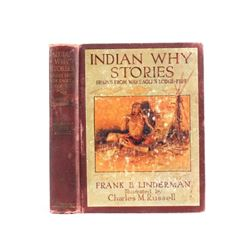 Indian Why Stories by Frank B. Linderman 1915