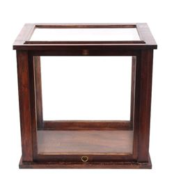 Early 1900's Oak & Glass Mercantile Display Case