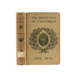 The Mountains of California by John Muir c.1907