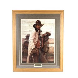 """""""Standing Star Ranch"""" Print by James Bama '84"""