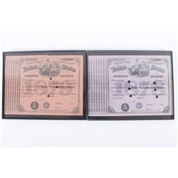 1870s United States IRS Special Tobacco Tax Stamps