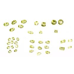 Faceted Peridot Gemstone Parcel 18.88CTW