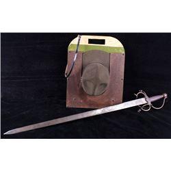 Boy Scout Hat & Holder & Spanish Sword