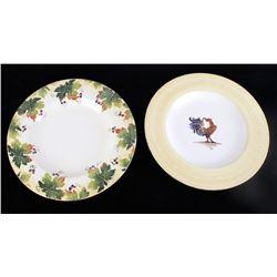 Bizzirri Italian Hand Pained Serving Plates