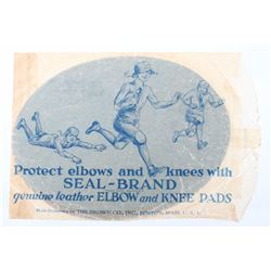 1920's Leather Seal-Brand Elbow & Knee Pads