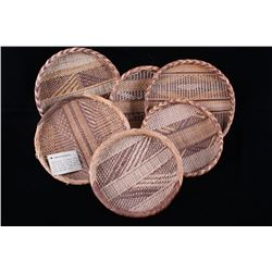 Hand Woven African Winnowing Basket Collection