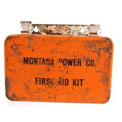 Montana Power Company First Aid Kit