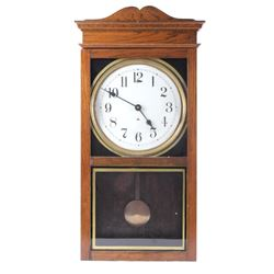 Self Winding Electric Converted Clock