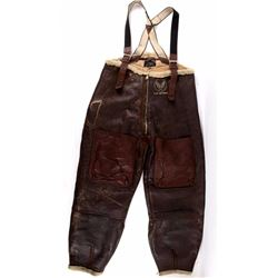 WWII US Army Air Forces Shearling Leather Trousers