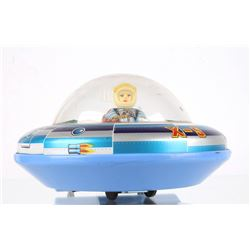Tin Flying Saucer Spaceship X-5 Toy Cir. 1960s