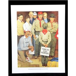 Collection of Boy Scout Prints by Joseph Csatari