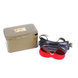 Vintage WW2 Variable Density Goggles c.1945