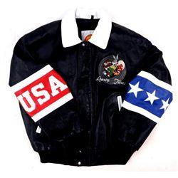 Looney Tunes Leather USA Jacket