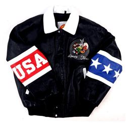 Looney Tunes Leather USA Jacket