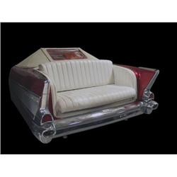 All Steel, 57 Chevy Sofa w/ Seeburg Juk
