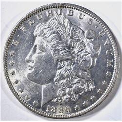 1886-O MORGAN DOLLAR, BU