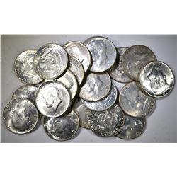 $10 FACE VALUE  90% SILVER KENNEDY HALF DOLLARS