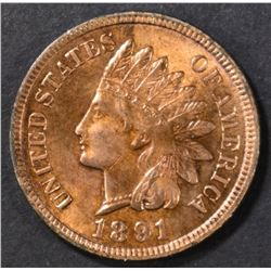 1891 INDIAN CENT  CH BU RD