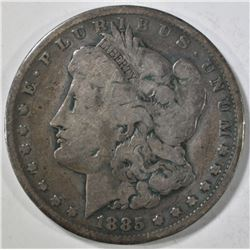 1885-CC MORGAN DOLLAR  VG