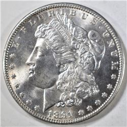 1891 MORGAN DOLLAR  CH/GEM BU