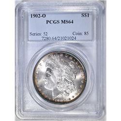 1902-O MORGAN DOLLAR  PCGS MS-64