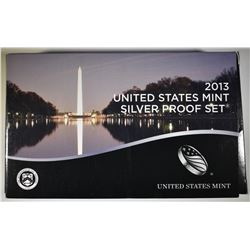 2013 U.S. SILVER PROOF SET IN ORIG PACKAGING