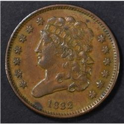 1832 HALF CENT, AU