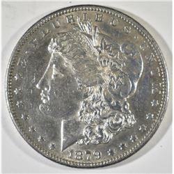 1879-S REV 78 MORGAN DOLLAR   AU/BU