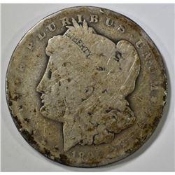 1895-O MORGAN DOLLAR  G/VG