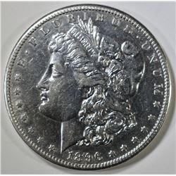 1896-S MORGAN DOLLAR  XF/AU