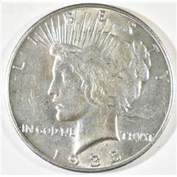 1935 PEACE DOLLAR  BU