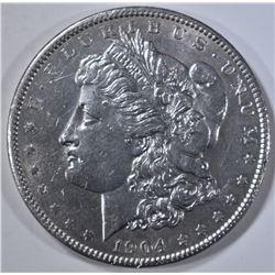 1904 MORGAN DOLLAR, AU/BU