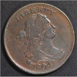 1804 HALF CENT  CH AU