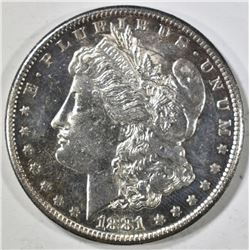 1881-S MORGAN DOLLAR, BU DMPL