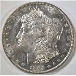 1884-O MORGAN DOLLAR, BU DMPL