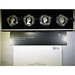 THE ROYAL MINT QUEEN'S CORONATION 60TH ANNIV.