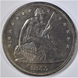 1855 SEATED LIBERTY DOLLAR AU/BU