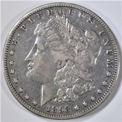 1893-S MORGAN DOLLAR VF/XF