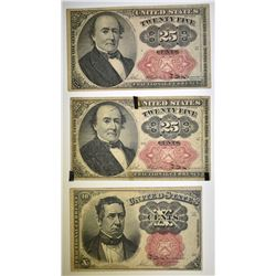 2 25c & 10c FRACTIONAL NOTES FIFTH ISSUE