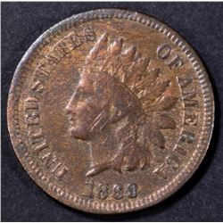 1869 INDIAN CENT VG/F MARK ON OBV