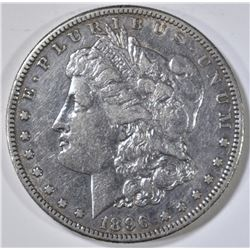 1896-S MORGAN DOLLAR, XF/AU