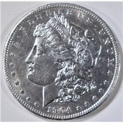 1904 MORGAN DOLLAR, AU/BU