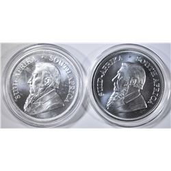 2-2019 ONE OUNCE SILVER KRURERRANDS