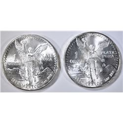 2-1982 ONE OUNCE SILVER MEXICO LIBERTADS