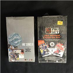 1991-92 PRO SET HOCKEY HOBBY BOXES