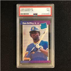 1989 DONRUSS #33 KEN GRIFFEY JR. (NM 7)